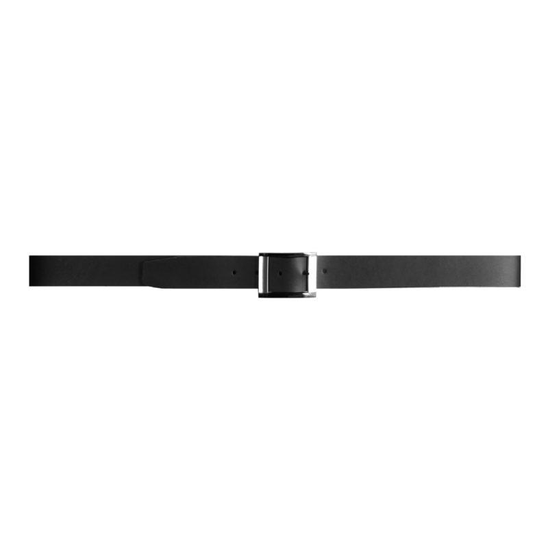 Cinturon liso negro